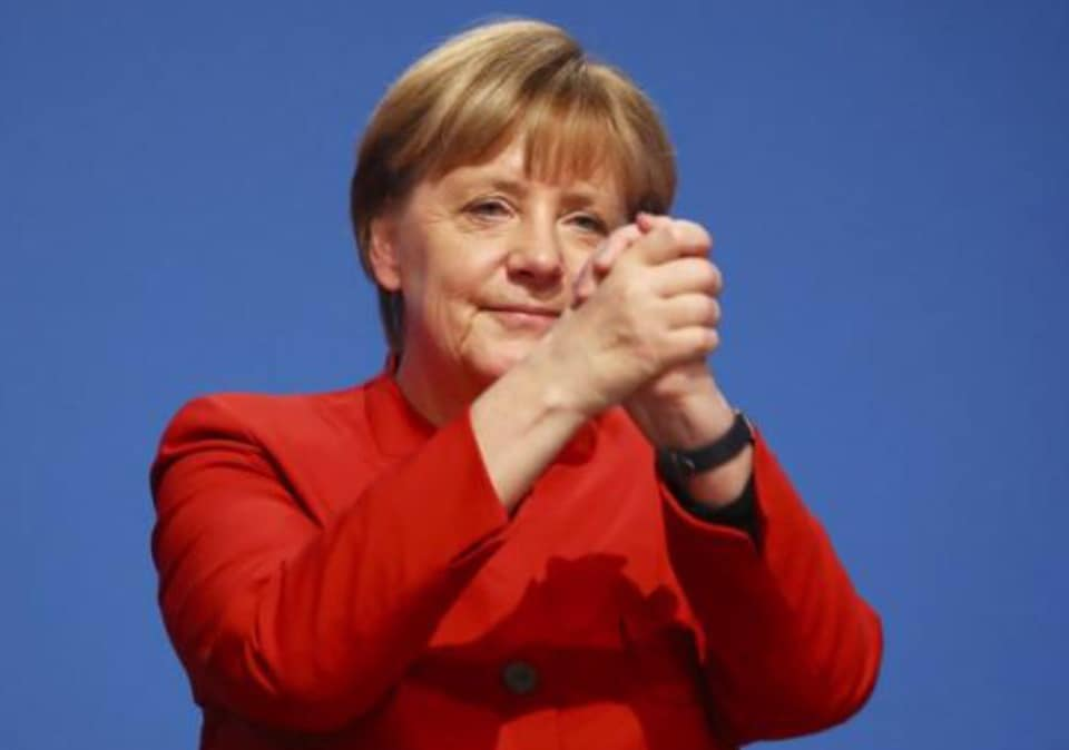 Thủ tướng Đức bà Angela Merkel